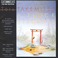 尾高 忠明 武満を振る (TAKEMITU:`A FLOCK DESCENDS INTO THE PENTAGONAL GARDEN' AND OTHER ORCHESTRAL WORKS)