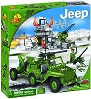 New! COBI Jeep Willys MB Normandy Mountain Terrain 300 Piece Building Block Set by COBI