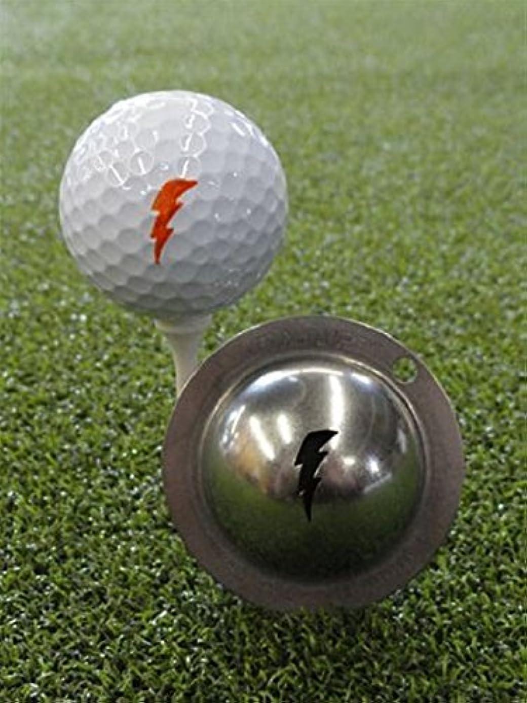 お風呂を持っている雇用ビットTin Cup ゴルフボール カスタムマーカー アライメントツール モデル