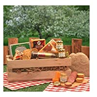 Sausage and Cheese Gift Crate