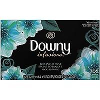 Downy (ウルトラダウニー) 乾燥機用柔軟仕上げシート インフュージョン ボタニカルミスト 105枚