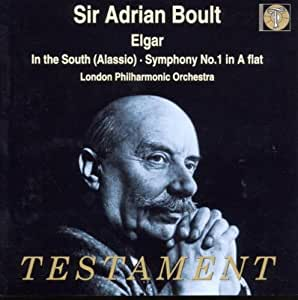 Elgar - In the South (Alassio) . Symphony 1 in A Flat / LPO . Boult