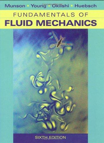 Download Fundamentals of Fluid Mechanics 0470262842