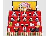 【ひな人形 ひな祭り】 錦彩花かざり雛(五段飾り)