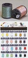 【フジックス】装飾・手芸用 スパークルラメ 24色各3個 ボードセット