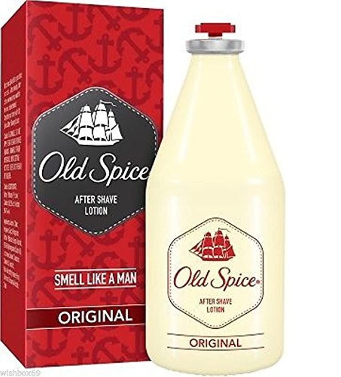 疑わしい絶え間ない魅惑するOld Spice original After Shave Lotion 150ml