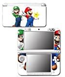 「New Super Mario Bros 3D Land World 2 Luigi Star Video Game Vinyl Decal Skin Sticker Cover for Original Nintendo 3DS XL System by Vinyl Skin Designs [並行輸入品]」の画像