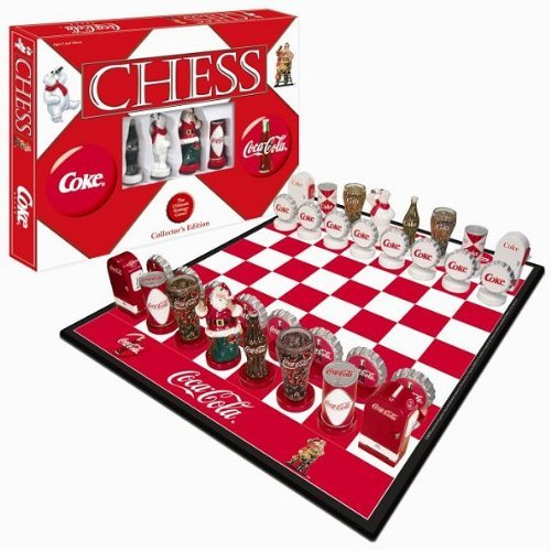 Limited Edition Coca-Cola Chess Set by First Class Chess Sets [並行輸入品]