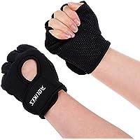 lipovolt Weight Lifting手袋M滑り止めhalf-finger AOLIKES通気性サイクリング