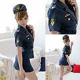 【AZwind】セクシー ミニスカ ポリス 婦人警官 コスプレ 衣装[オリジナルパッケージ]