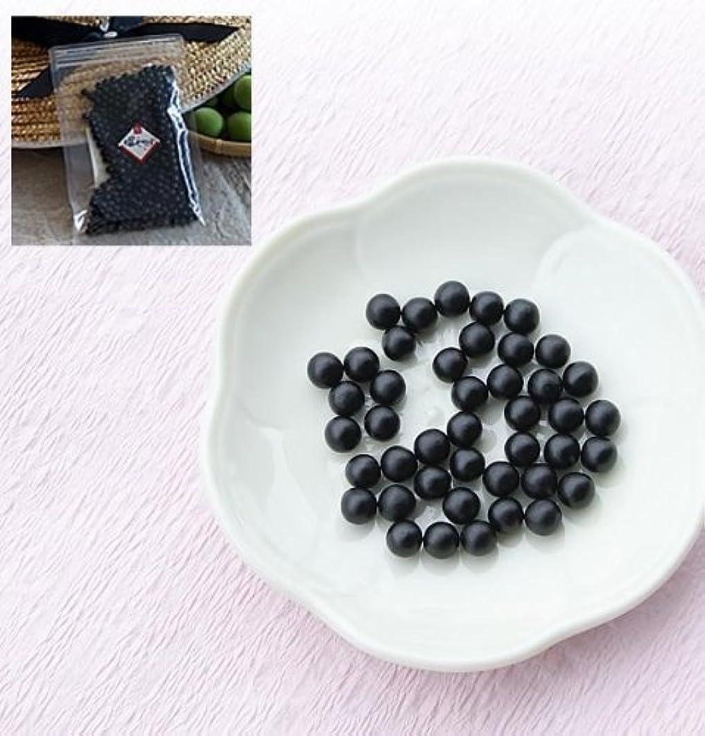 倒産レンジキノコ深見梅店 青梅から作った梅肉エキス粒タイプ 100g(約3か月?約600粒)