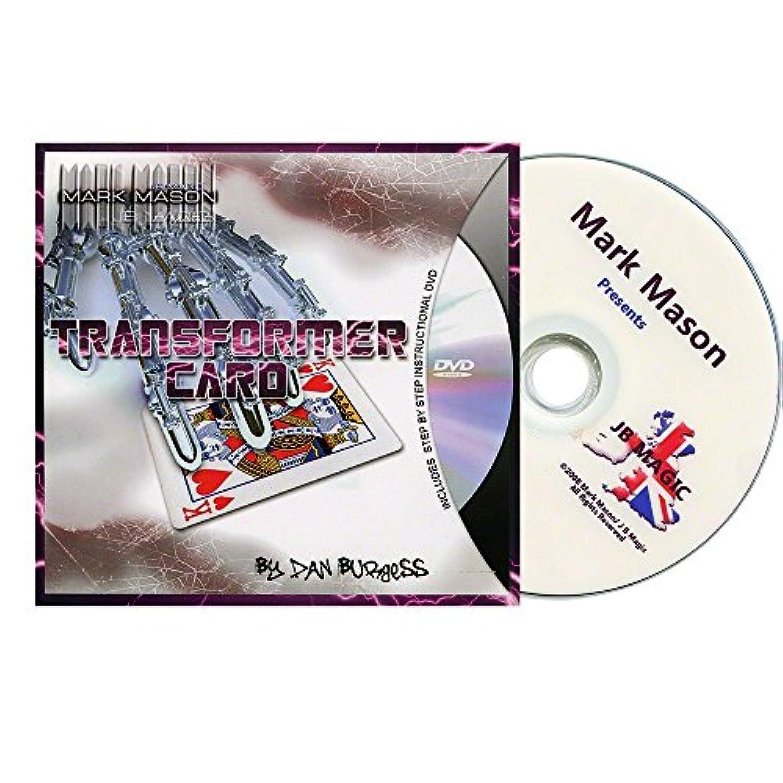 MMS Transformer Card (Blue Card and DVD) by Mark Mason and JB Magic - DVD [並行輸入品]