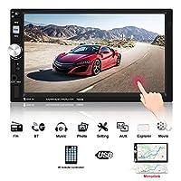 ジェネリック 2倍のインゴット7インチ HD 車ラジオタッチスクリーン鏡リンクBluetoothをサポートオーディオステレオ TF/SD/AUX/USBFMラジオリモートコントロールMP5プレーヤー