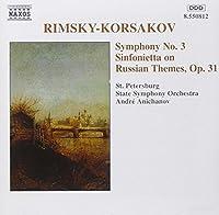 Symphony 3 & Sinfonietta by RIMSKY-KORSAKOV (2000-10-05)