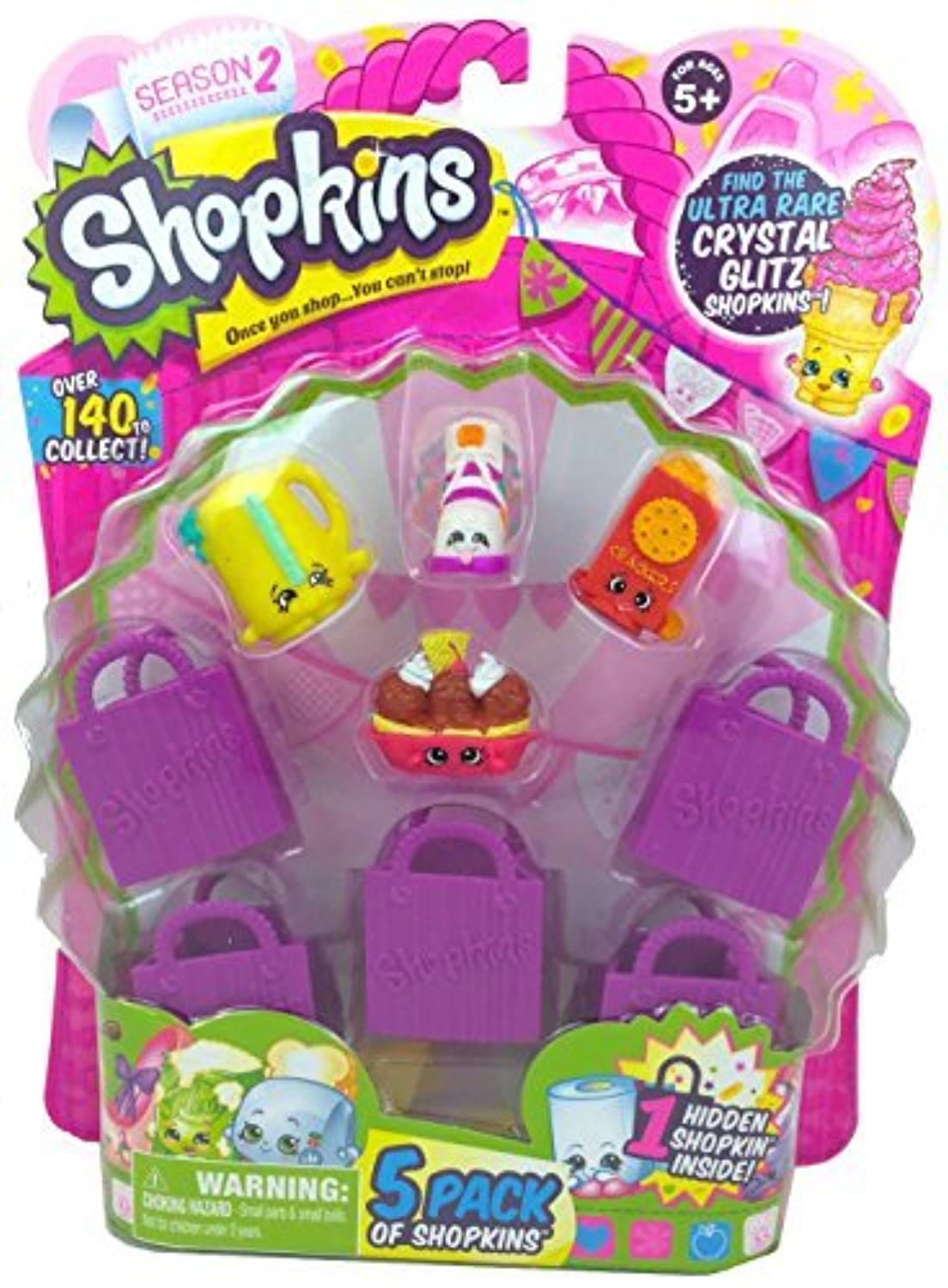Shopkins Season 2 (5 Pack) Set 19 by Moose Toys [並行輸入品]