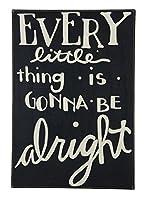 プリミティブby Kathyボックスサイン、20インチby 73.66、Gonna Be Alright
