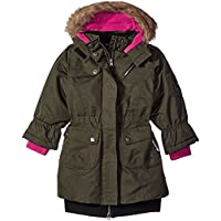 Big Chill Big Girls' Long Expedition Jacket, Forest, 10/12