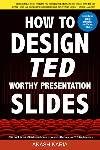 amazon co jp how to design ted worthy presentation slides