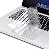 """Masino® English Letter Silicone Keyboard Cover Ultra Thin Keyboard Skin for Japan VERSION MacBook Air 11"""" DO NOT FITS FOR EUROPE US CHINESE VERSION Mac (英語, 透明)"""
