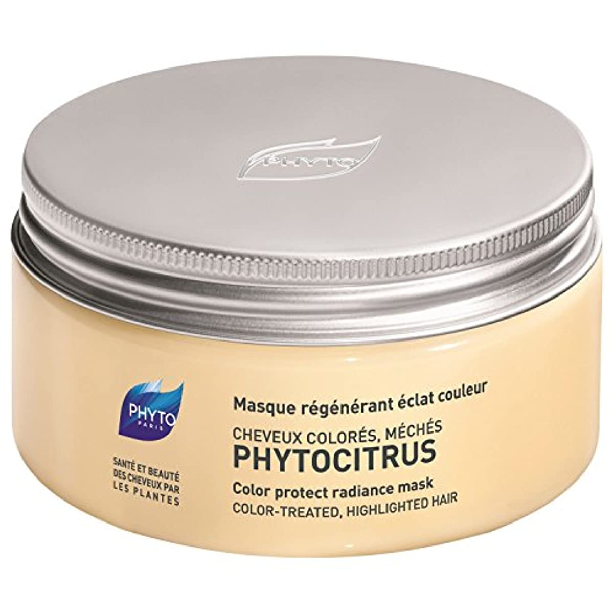 モーテル穀物摘むフィトPhytocitrus色保護放射輝度マスク200ミリリットル (Phyto) (x6) - Phyto Phytocitrus Colour Protect Radiance Mask 200ml (Pack of...