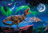 1000ピースジグソーパズル 星月夜のティラノサウルス(49×72cm)