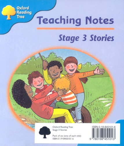 Oxford Reading Tree: Stage 3: Storybooks: Pack (6 Books, 1 of Each Title)の詳細を見る