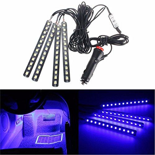 HooMoo 車内装飾用LEDライト 防水高輝度 シングルカ...