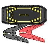 PowerUrus ジャンプスターター IP66防水 1600Aピーク電流(最大10Lガソリン車&6.5Lディーゼル車対応) Quick Charge 3.0 モバイルバッテリー 12V DC 電源