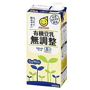 マルサンアイ 有機豆乳無調整 1L