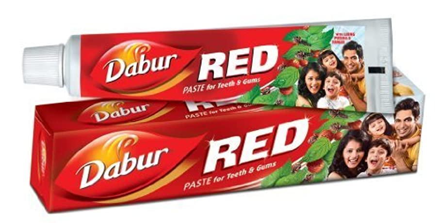 尋ねる銃ウルルDabur Red Toothpaste 200g Large (Pack of 6) by Dabur [並行輸入品]