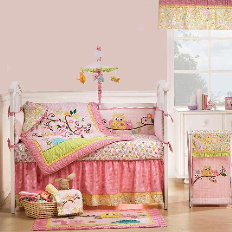 Dena Happi Tree 9 Piece Baby Crib Bedding Set by Kidsline by KidsLine