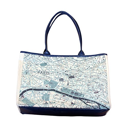 totemap トートバッグ Canvas totemap Paris L ctm001P