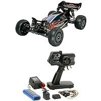 【セット商品】 タミヤ 1/10 電動RCカーシリーズ No.370 ダークインパクト + ファインスペック 2.4G 電動RCドライブセット
