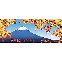 濱文様 絵てぬぐい 秋富士景色