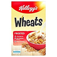 (Kelloggs (ケロッグ)) つや消し小麦600グラム (x6) - Kelloggs Frosted Wheats 600g (Pack of 6) [並行輸入品]