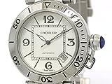 [カルティエ]Cartier【CARTIER】カルティエ パシャ シータイマー ステンレススチール 自動巻き メンズ 時計W31080M7(BF094779)[中古]