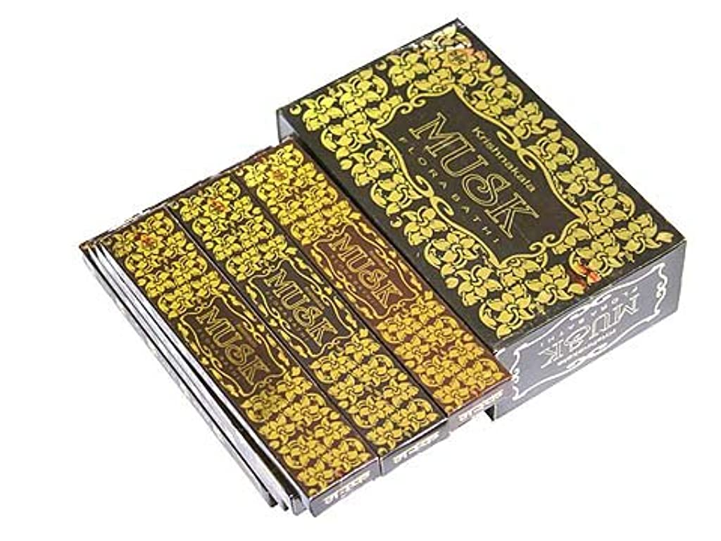 だらしないポジティブ施設A-RAVI RAG(エーラビ ラグ) ムスク香 スティック MUSK 12箱セット