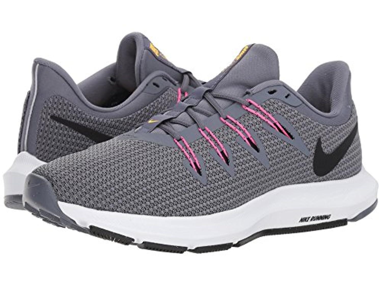 [NIKE(ナイキ)] レディーステニスシューズ?スニーカー?靴 Quest Light Carbon/Black/Laser Orange 7 (24cm) B - Medium