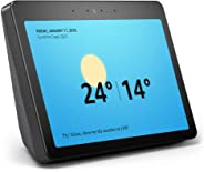 "Echo Show (2nd gen) - Premium sound and a vibrant 10"" HD screen – Charcoal Fabric"