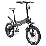 Cyrusher G660 電動アシスト自転車 折りたたみ 20インチ 電動自転車 MTBマウンテンバイク 電気バイク 48V*10AHリチウムバッテリー 専用充電器付 (ブラック)