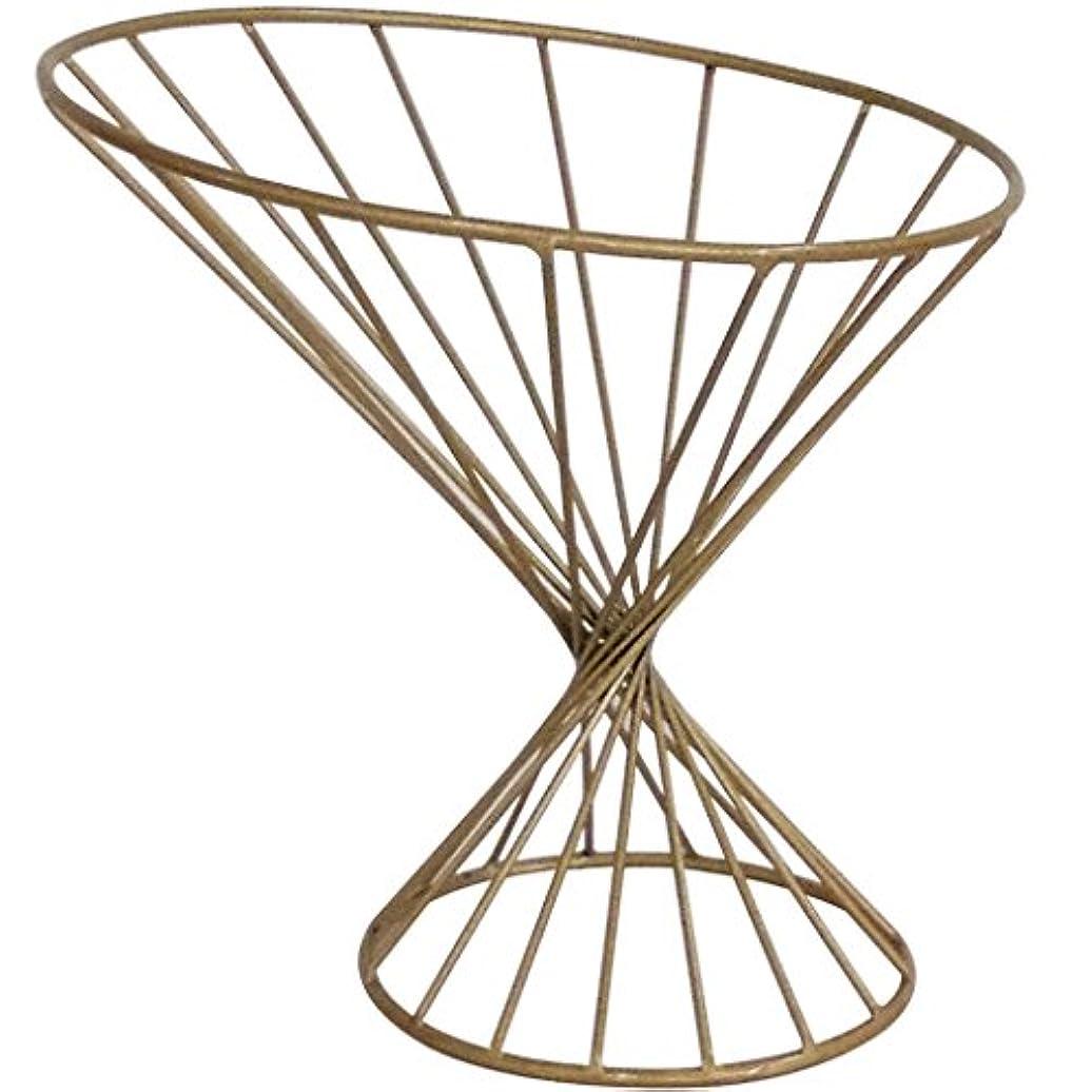 補助敬礼キャラバンDongRL フルーツの皿の金細いウエストのフルーツバスケット、創造的な流行の鉄の家の装飾のフルーツ皿