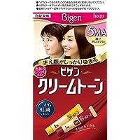 ホーユー ビゲン クリームトーン 5MA (深いマロンブラウン) 1剤40g+2剤40g