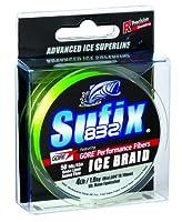 (14kg, Neon Lime) - Sufix 832 Ice Braid Fishing Lure