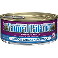ナチュラルバランス インドア キャット缶 5.5オンス(156g)×24缶セット