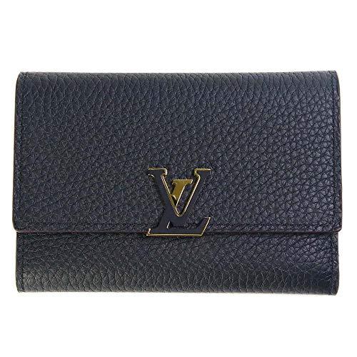 ルイヴィトン 財布 折財布 ポルトフォイユ カプシーヌ コンパクト M62157 LOUIS VUITTON ビトン ブイトン 三つ折り財布 ミニ財布 ちび財布 ウォレット