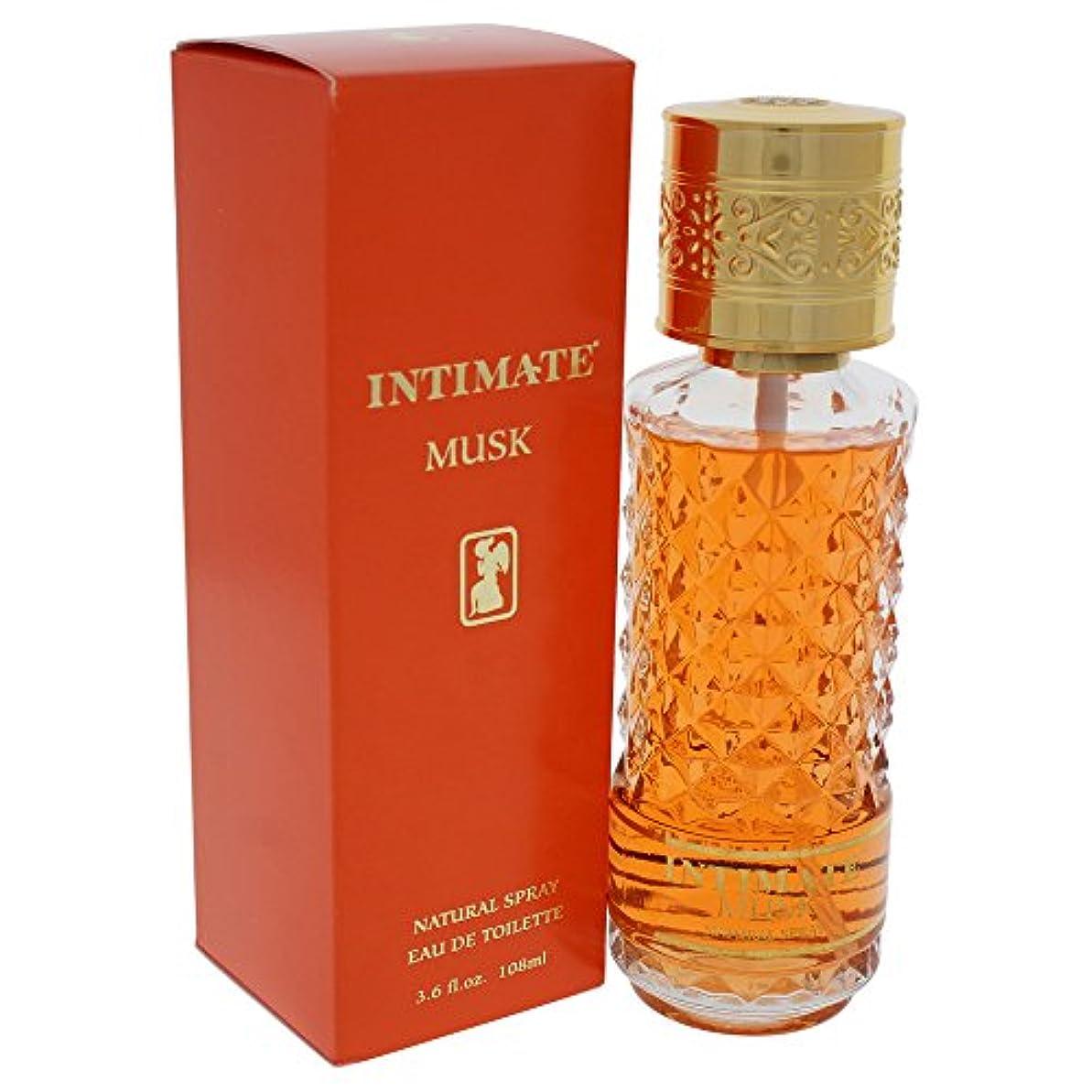 嫉妬コンピューターゲームをプレイするホイストJean Philippe Intimate Musk 100ml/3.4oz Eau De Cologne Perfume Spray for Women