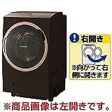 東芝 11.0kg ドラム式洗濯乾燥機【右開き】グレインブラウンTOSHIBA ZABOON TW-117X6R-T