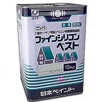 日本ペイント ファインシリコンベスト オレンジエロー 15kg