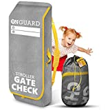 OnGuard Stroller Travel Bag for Single Strollers - Waterproof Rip Resistant Polyester Compact - Stroller Bag Cover Accessorie