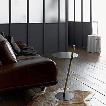 DUENDE/TUBE&ROD ブラック サイドテーブル インテリア デザイナーズ家具 送料無料